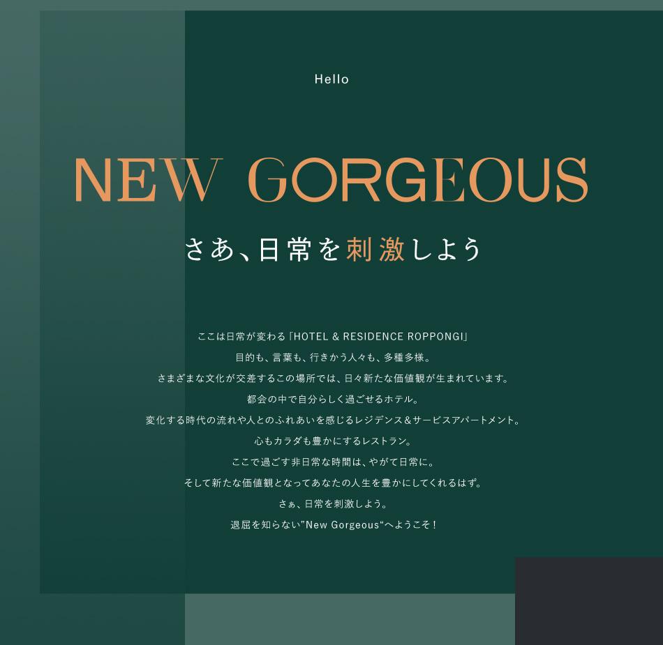 NEW GORGEOUS