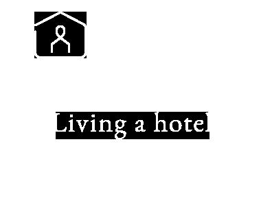 Living a hotel